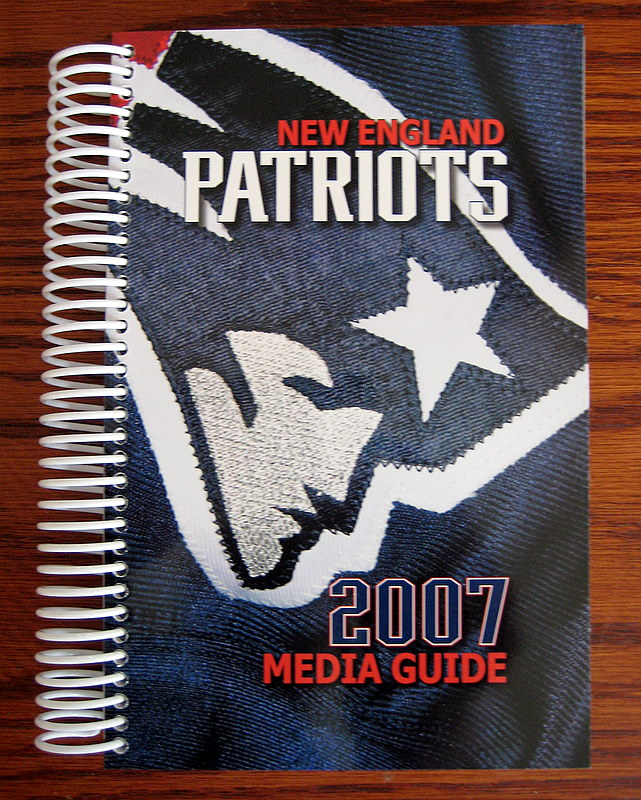 New England Patriots 2007 Media Guide