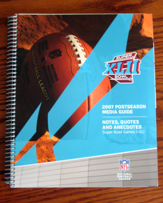 NFL 2007 Postseason Media Guide