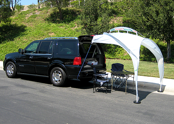Tailgator Sunshade Better Alternative To The Portable Canopy