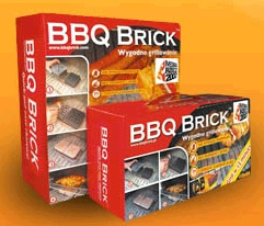 BBQ Brick charcoal alternative