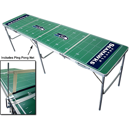 Seattle Seahawks Beer Pong Table