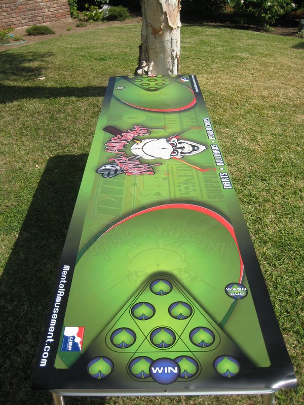 Beer Pong Mats Keep Your Tailgating Table Dry | Tailgating Ideas