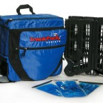 Trackpack Blue backpack cooler