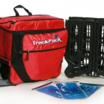 Trackpack Red backpack cooler