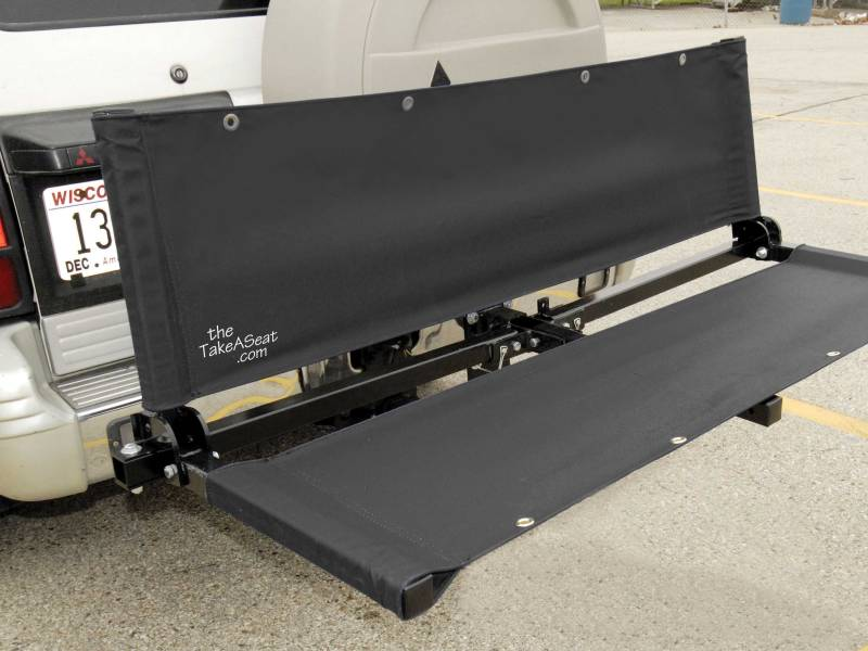The Take A Seat: 3 In 1 Bench/Cargo Holder/Bike Rack