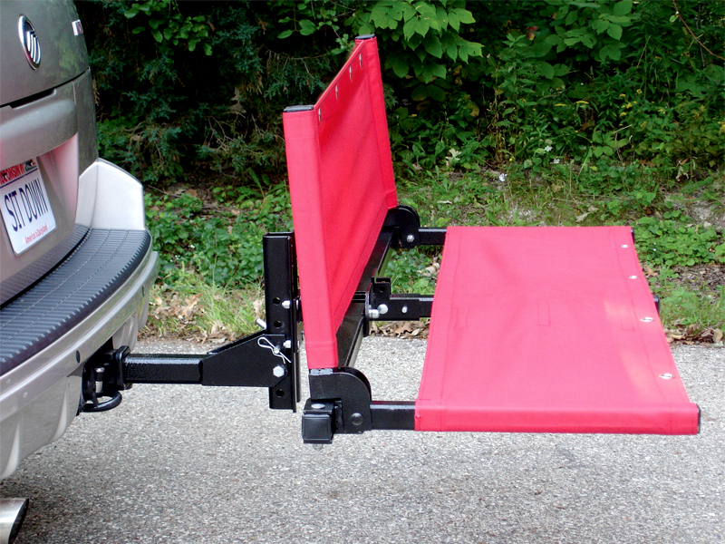 Perfect The Take A Seat: 3 In 1 Bench/Cargo Holder/Bike Rack