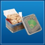 Camden Yards cookie tin