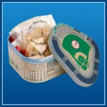 Yankee Stadium cookie tin