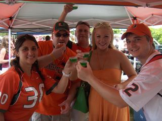 Miami Hurricanes Tailgate Party