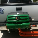 University of Miami custom tailgating grill