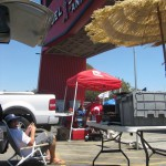 Tailgating at Anaheim All-Star Game
