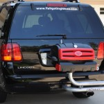 Cincinnati Bearcats Grill on SUV