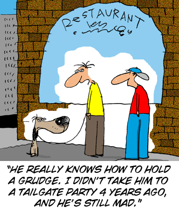 Dogs Holds a grudge