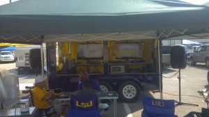 Krewe of Monroeaux Tailgating Trailer