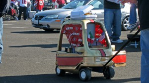 Little Tailgater 49ers fan