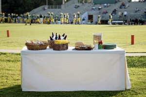 Tablevogue while tailgating