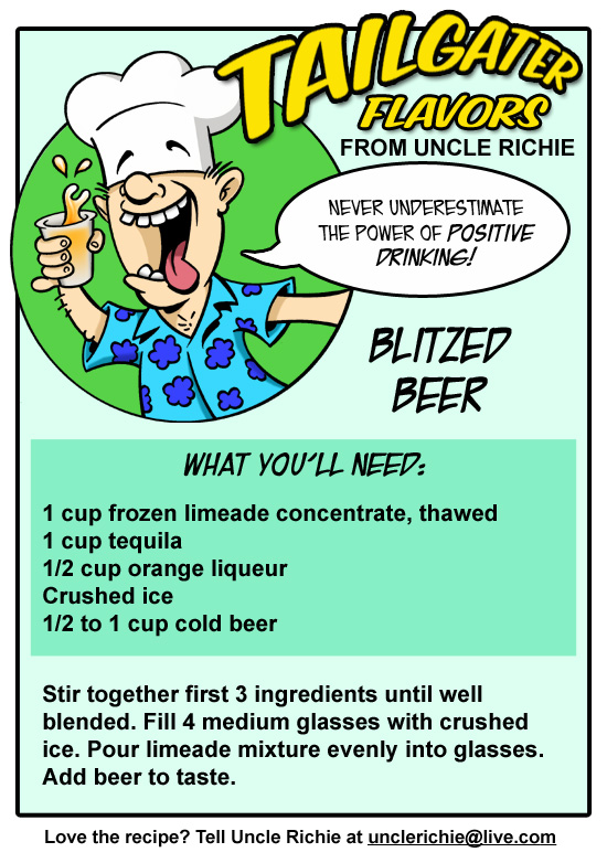 Drunk Uncle Richie Blitzed Beer Recipe