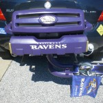 Baltimore Ravens Tailgating Grill