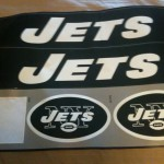 Jets Decals missing NFL shield logo