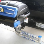 Kentucky Tailgating Grill Swing Arm