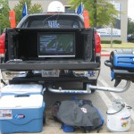 Kentucky Tailgating Grill Parking Lot