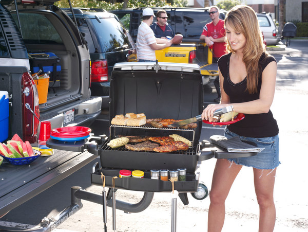 Freedom Grill Tailgating Grill Hot Girl