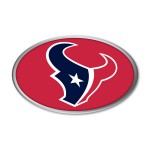 Houston Texans Auto Emblem
