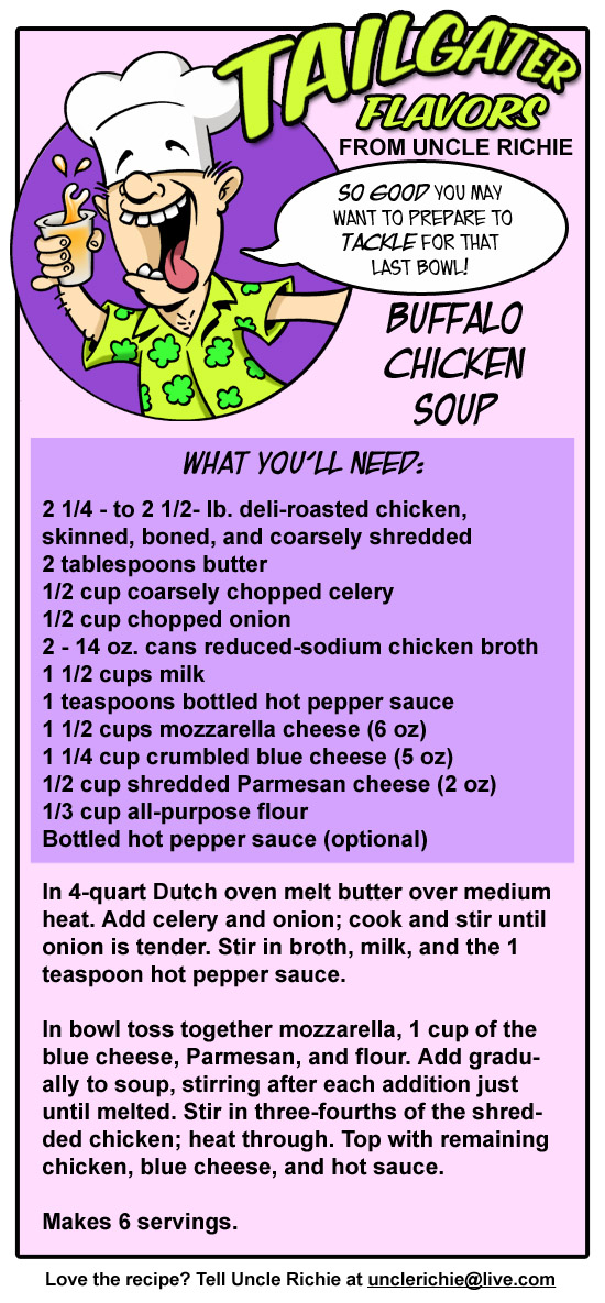 Buffalo Chicken Soup Recipe