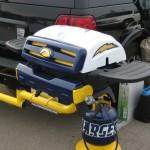 Chargers Tailgating Grill
