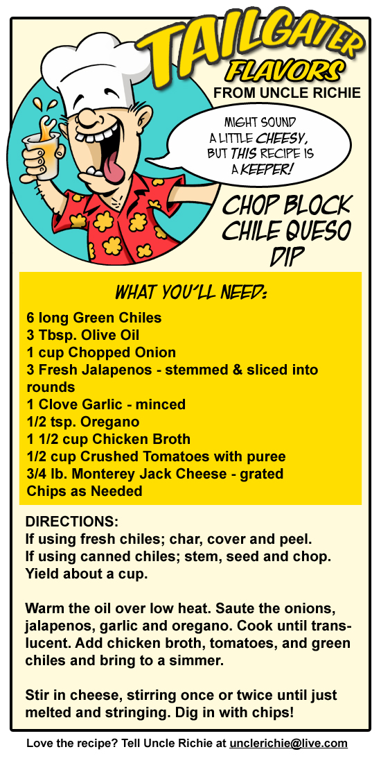 Chop Block Queso Dip recipe
