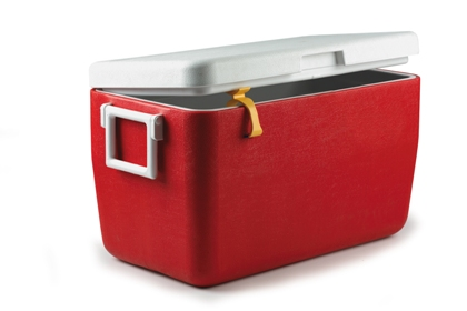Cooler Dry on Red Cooler