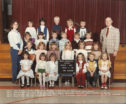 Kindergarten Class Photo