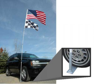 Tailgater's Tire Mount