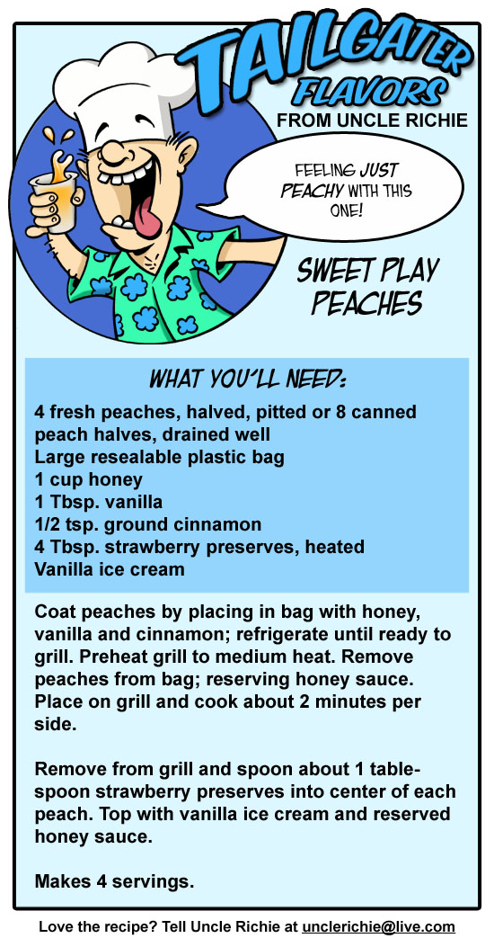 Sweet Play Peaches Recipe
