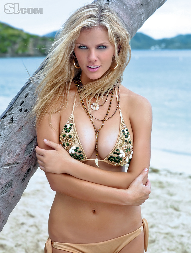 Brooklyn Decker Bikini. • Join us on our Tailgating Ideas Facebook Fan Page