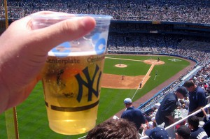Yankee Stadium Beer