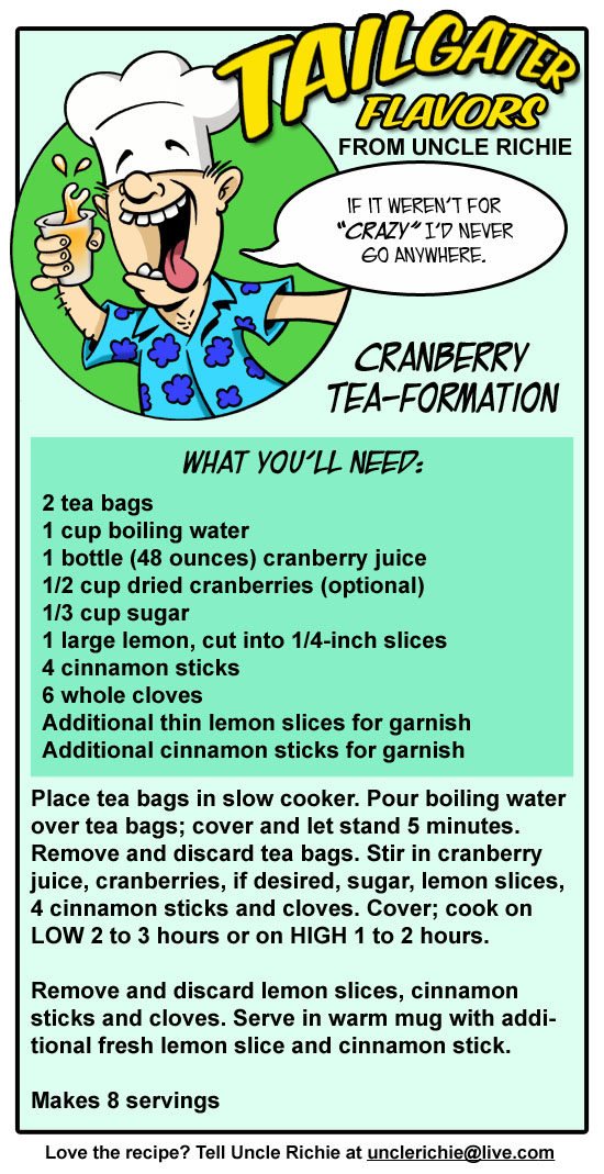 Cranberry Tea Formation