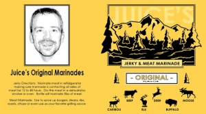 juices originals marinade label