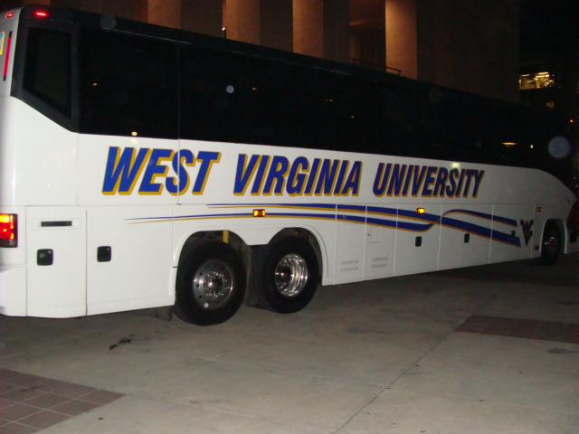 West Virginia charter bus