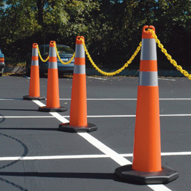 Parking Lot Stanchions