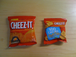 Cheezit Bags