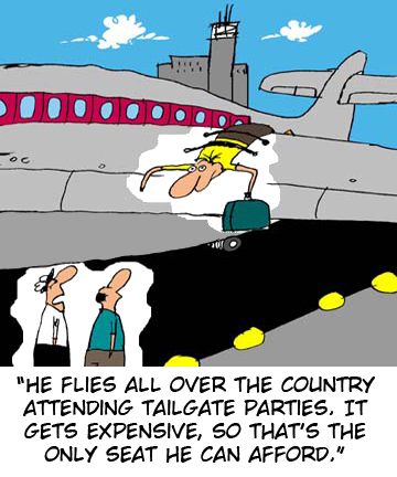 Frequent Flyer tailgater
