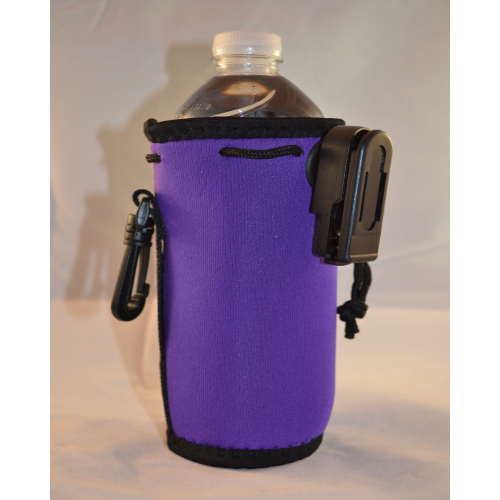 KoozieKlip water bottle
