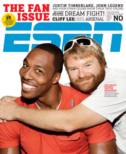 ESPN the Magazine Cover
