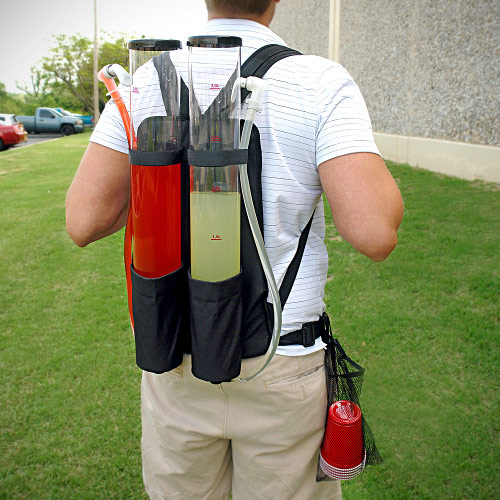 Backpack Drink Dispenser rear