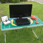 GoPong Football tailgating table