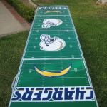 GoPong Football Beer Pong Table