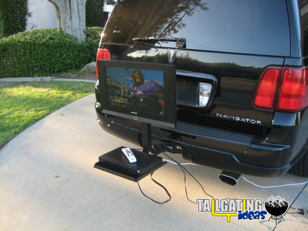 Hitch N View Portable Tv Mount Tailgating Ideas