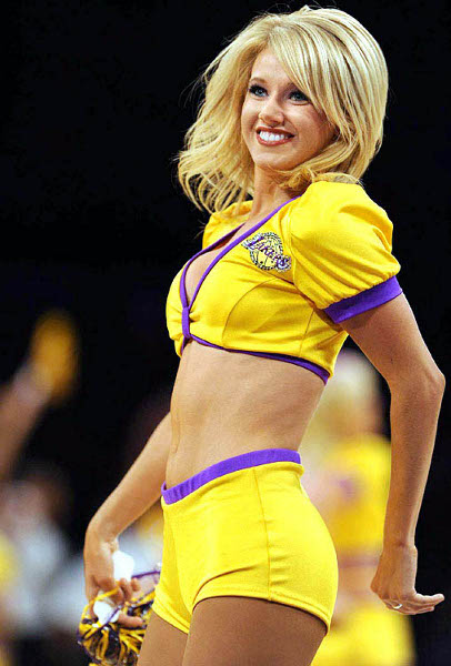Laker girl dancer