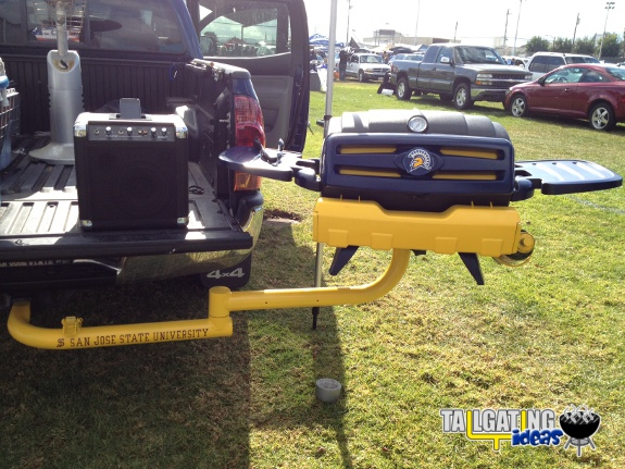 San Jose State Tailgating Grill